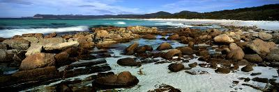 Rocks on the Beach, Friendly Beaches, Freycinet National Park, Tasmania, Australia--Photographic Print