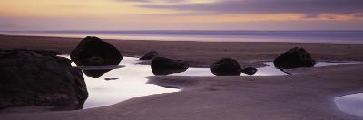 Rocks on the Beach, Sandymouth Bay, Bude, Cornwall, England--Photographic Print