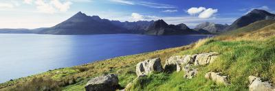 Rocks on the Hillside, Elgol, Loch Scavaig, View of Cuillins Hills, Isle of Skye, Scotland--Photographic Print