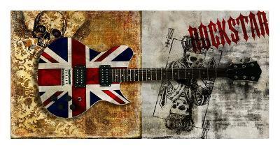 Rockstar-Steven Hill-Art Print