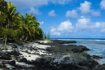 Rocky Beach in Tau Island, Manuas, American Samoa, South Pacific-Michael Runkel-Photographic Print