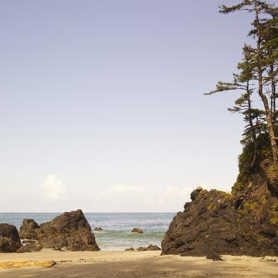 Rocky Beach Scene, Cape Scott, Vancouver, Bc, Canada-Adam Blasberg-Photographic Print