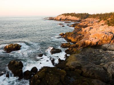Rocky Coast of Isle Au Haut, Acadia National Park, Maine, USA-Jerry & Marcy Monkman-Photographic Print