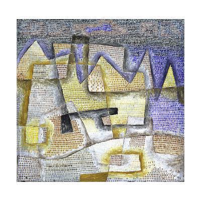 Rocky Coast-Paul Klee-Giclee Print
