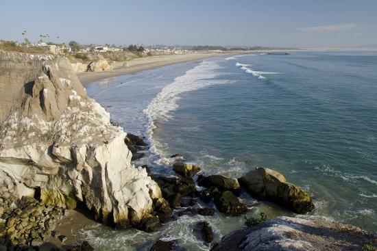 Rocky Coastal Overview, Pismo Beach, California, USA-Cindy Miller Hopkins-Photographic Print