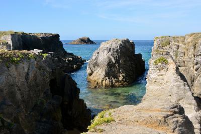 Rocky Coastline of Quiberon in France-Christian Musat-Photographic Print