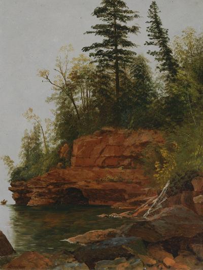 Rocky Cove-Albert Bierstadt-Giclee Print
