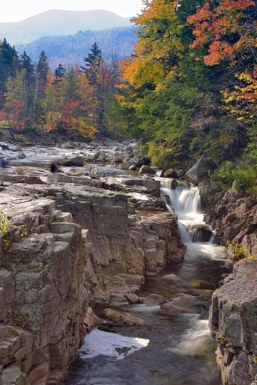 Rocky Creek Gorge, White Mountains, New Hampshire-George Oze-Photographic Print