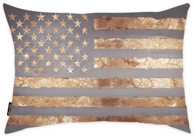 Rocky Freedom Throw Pillow