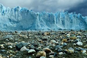 Rocky Glacier Beach Patagonia Argentina Photo Poster