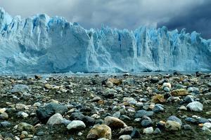 Rocky Glacier Beach Patagonia Argentina
