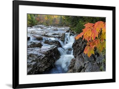 Rocky Gorge Autumn-Michael Blanchette Photography-Framed Giclee Print