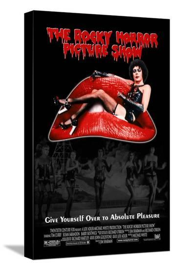 Rocky Horror Picture Show--Stretched Canvas Print
