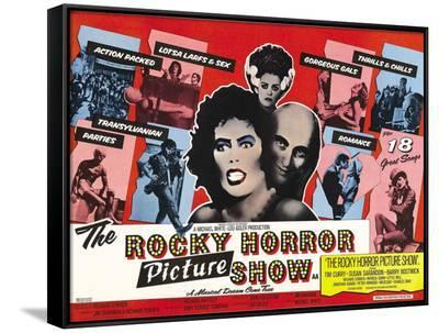 Rocky Horror Picture Show--Framed Canvas Print
