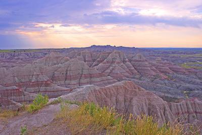 Rocky Landscape of Badlands National Park in South Dakota, Usa-Donna O'Meara-Photographic Print