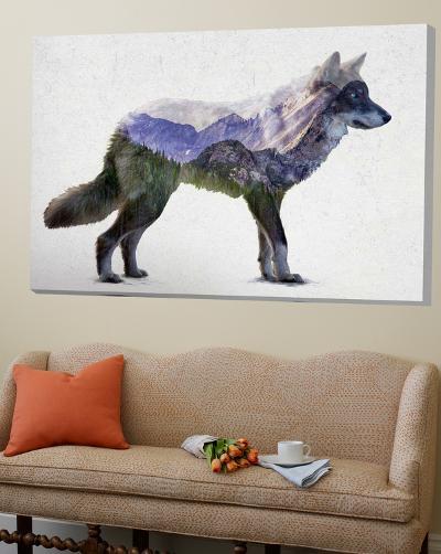 Rocky Mountain Grey Wolf-Davies Babies-Loft Art