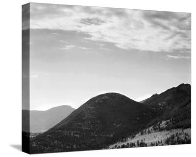 Rocky Mountain National Park, Colorado, ca. 1941-1942-Ansel Adams-Stretched Canvas Print