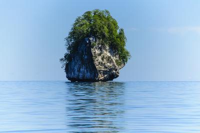 Rocky Outcrops in the Bacuit Archipelago, Palawan, Philippines-Michael Runkel-Photographic Print