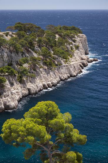 Rocky Point, Calanques, Cassis, Bouches-Du-Rhone, Cote d'Azur, Provence, France-Brian Jannsen-Photographic Print