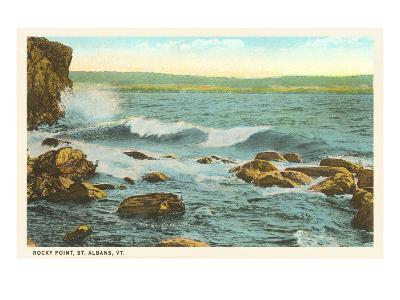 Rocky Point, St. Albans, Vermont--Art Print