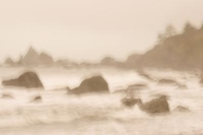 Rocky Shoreline at Hidden Beach in Redwood National Park-Philip Schermeister-Photographic Print