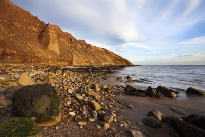 Rocky Shoreline Below Carr Naze-Mark Sunderland-Photographic Print