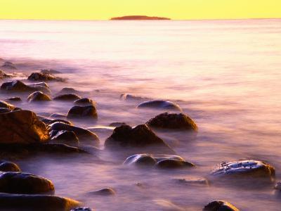 Rocky Shores of Bass Harbor-Darrell Gulin-Photographic Print