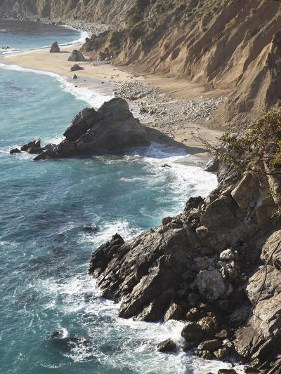 Rocky Stretch of Coastline in Big Sur, California, United States of America, North America-Donald Nausbaum-Photographic Print