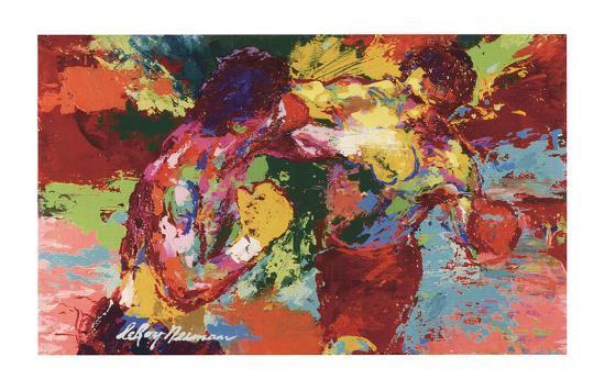 Rocky Vs. Apollo-LeRoy Neiman-Art Print