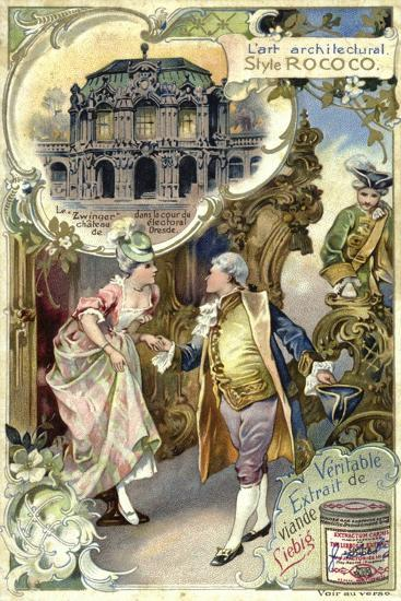 Rococo Architecture; Zwinger Palace, Deresden--Giclee Print