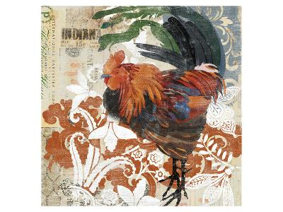 Rococo Rooster--Art Print