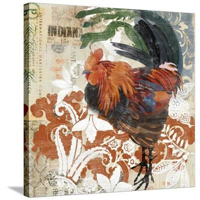 Rococo Rooster--Stretched Canvas Print