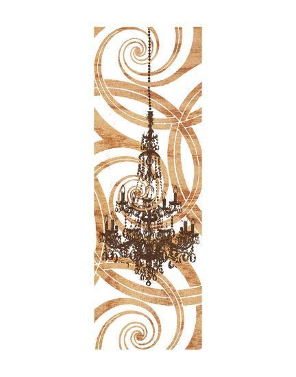 Rococo Sparkle (crop)-Erin Clark-Art Print