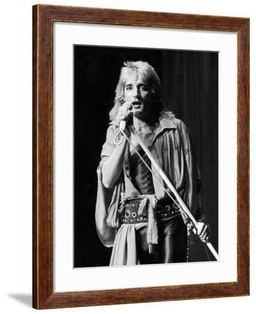 Rod Stewart (1945-)--Framed Giclee Print