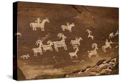 Ute Petroglyphs, Arches National Park, Utah, USA