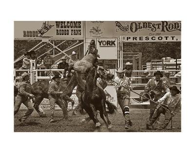 Rodeo Daze-Barry Hart-Art Print