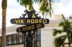 Rodeo Drive Beverly Hills USA