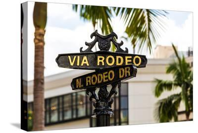 Rodeo Drive Beverly Hills USA--Stretched Canvas Print