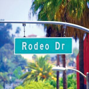 Rodeo Drive Sign Beverly Hills