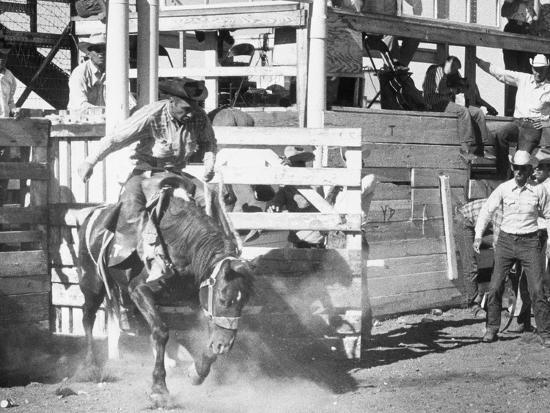 Rodeo-George Marks-Photographic Print