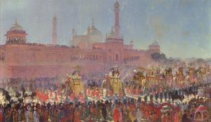 The Delhi Durbar, 1903 by Roderick D. MacKenzie