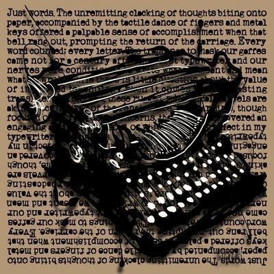 Three-Quarter Typewriter
