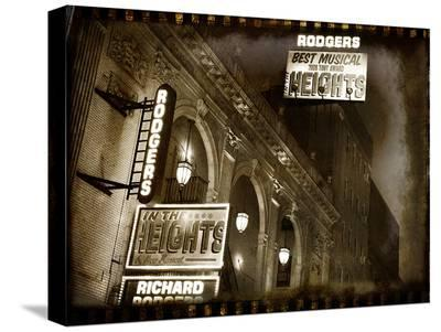 Rodgers Theatre-Dale MacMillan-Stretched Canvas Print