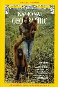 Cover of the October, 1975 National Geographic Magazine by Rodney Brindamour