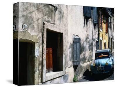Citroen Dcv Car Parked in Street, France