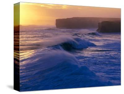 Waves Breaking off the Coast of the Port Campbell National Park, Australia