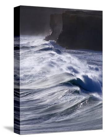 Waves Crashing on Cliffs, Port Campbell National Park, Australia