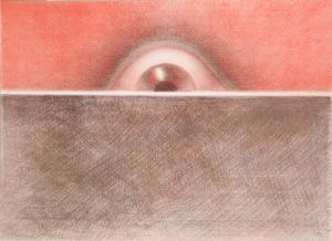 Rising Eye by Rodolfo Abularach