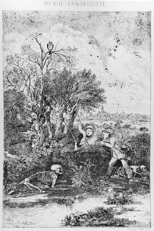 The Hunters Overtaken by Death, 1857