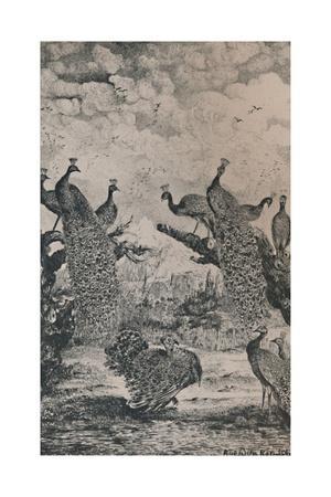 'The Peacocks', 1869, (1946)